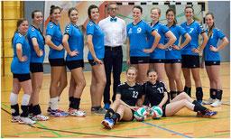 Damen-3 - ungeschlagener Tabellenführer in der Bezirksliga
