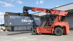 used reach staker Hyster RS45 2008