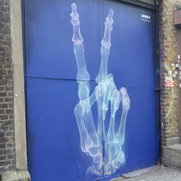 Shok 1, Shoreditch Street Art Tour