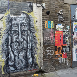 Pyramid Oracle, Shoreditch Street Art Tour