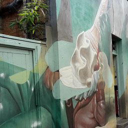 Shoreditch Street Art Tours, Telmo Miel
