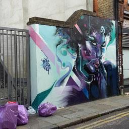Shoreditch Street Art Tours, Mr Cenz