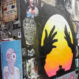 Otto Schade, Shoreditch Street Art Tour