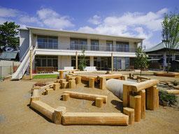 弊社が設計した静岡県浜松市の蒲保育園