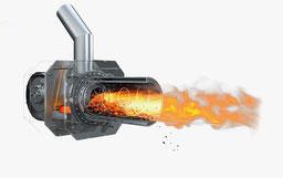 Rotation Pelletbrenner 5-20 kW Blaze Harmony