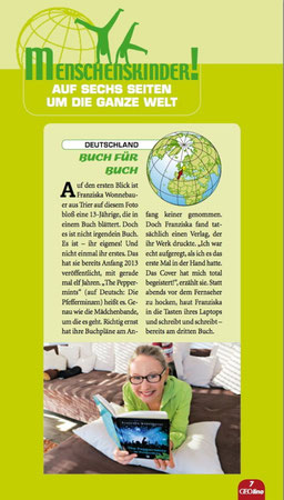 Quelle: GEOlino Magazin, Ausgabe März 2014