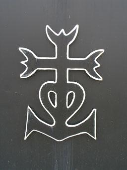 Das Kreuz mit Anker der Camargue