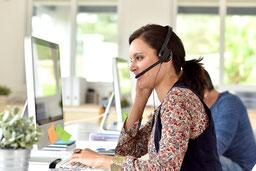 Bewerbung Service Telefonist/in