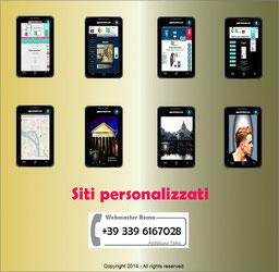 Webmaster Agapeuno Siti personalizzati