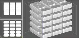 15 Multimeter in einem Druckvorgang