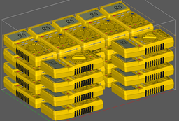 28 Multimeter in einem Druckvorgang