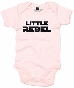 Star Wars Strampler rosa Little Rebel