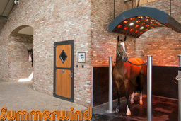 horse solarium, summerwind, light therapy, GHI member
