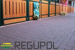 BWS, Regupol, Rubber flooring, wall protection, stable mat, paddok mat, rubber pavers, GHI member