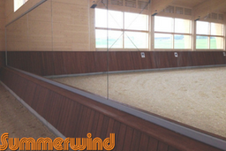 Arena Mirror, Mirror for riding arena, summerwind, GHI member