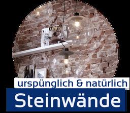 Steinwände, Natursteine, Kunststeine, Wandverblender, Steinpaneele von GERZEN wand-design