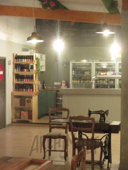 Cave à bières et bar à bières de la brasserie artisanale de Saint-Alban-Leysse