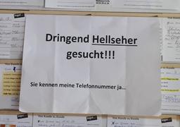 Hellseher gesucht (Foto: Früherwisser Media)