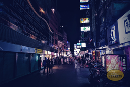 Bangkok ・ In den dunklen Strassen
