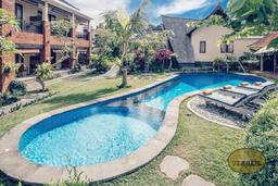 Unsere Unterkunft in Ubud・Bali