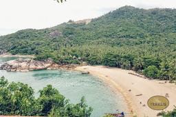 Der Besuch am Haad Sadet Beach in Koh Phangan.