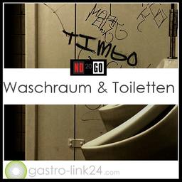 Waschraum und Toiletten Hygiene