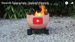 Keramik Feuerschale