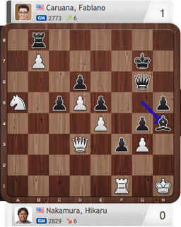Nakamura-Caruana, Partie 4, Final Four, Magnus Carlsen Invitational