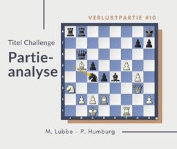 Partieanalyse Lubbe-Humburg