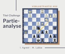 Partiaanalyse I.Agrest-M.Lubbe