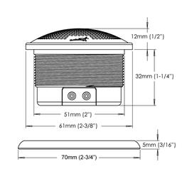 Skizze GB15 Hochtöner Audiofrog