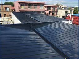札幌市東区にて屋根塗装!