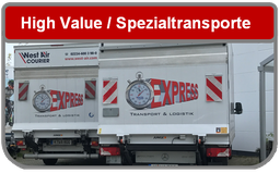 Köln Spezialtransporte mit Hebebühne, Kofferfahrzeug, hochwertige Transporte