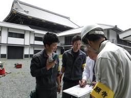 古建築の虫害管理サービス施工写真1
