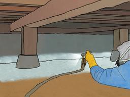 床下の防湿/テクノガード