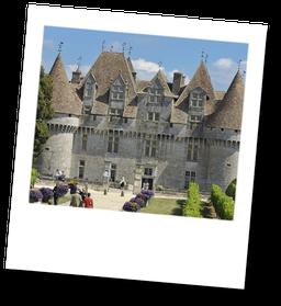 Château de Monbazillac - Vignoble de Bergerac en Dordogne - Périgord