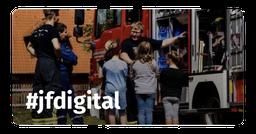 Wie eine Jugendfeuerwehr ihre Mitglieder digital beteiligt, schult und unterhält.