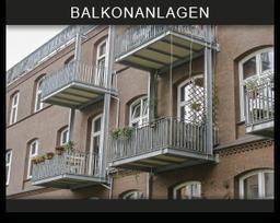 Schaltfläche Balkone