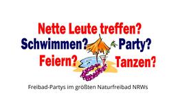 Freibad-Partys