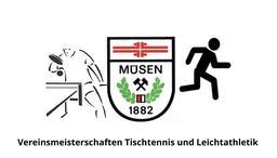 Vereinsmeisterschaften im Tischtennis und der Leichtathletik