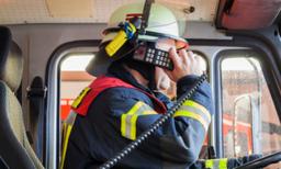 Feuerwehr, Alarmierung, Brandmeldung
