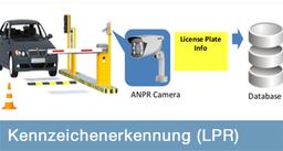 Kennzeichenerkennung, LPR, licence plate recognition