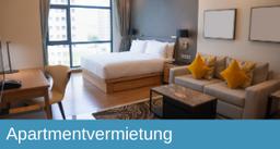 Apartmentvermietung, Apartment, Kurzzeitvermietung
