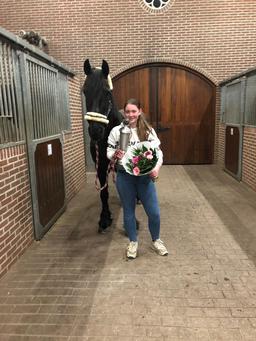Meaghan Vos, winnares van de clubkampioenschappen 2019