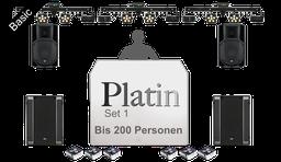 Paket Platin / DJ-,Ton- & Lichttechnik bis 250 Personen