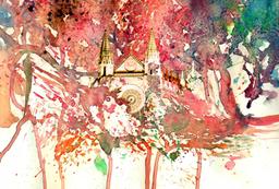 aquarelle bilder poster mallorca
