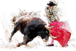 mallorca torero bilder poster