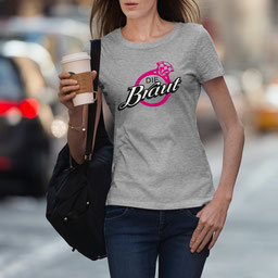 JGA-Shirt für Frauen Die Braut Ring