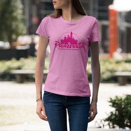 JGA-Shirt für Frauen Die Prinzessin hat ihren Prinzen gefunden