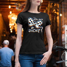JGA-Shirt für Frauen Du auch dicht?